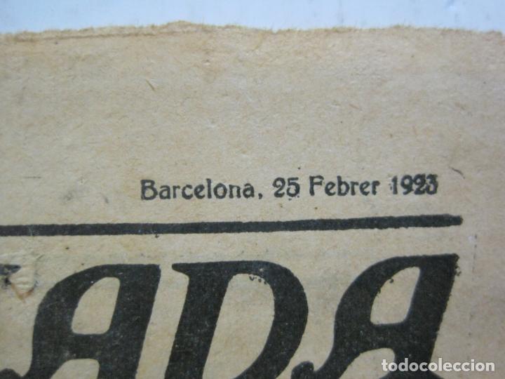 Coleccionismo deportivo: LA JORNADA DEPORTIVA-HOMENATGE A HANS GAMPER-FC BARCELONA-FEBRER 1923-FUTBOL-VER FOTOS-(K-1160) - Foto 5 - 227086360