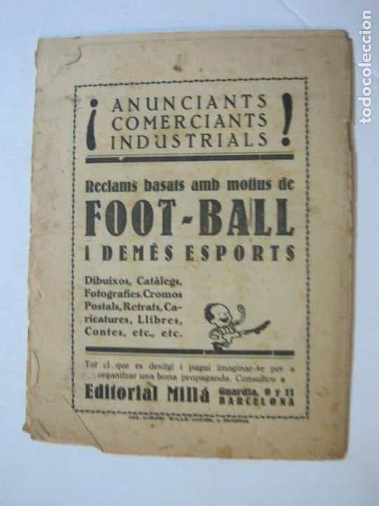 Coleccionismo deportivo: LA JORNADA DEPORTIVA-HOMENATGE A HANS GAMPER-FC BARCELONA-FEBRER 1923-FUTBOL-VER FOTOS-(K-1160) - Foto 11 - 227086360