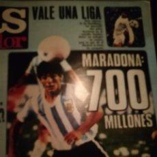 Coleccionismo deportivo: DIEGO MARADONA. ESPECIALES AS COLOR AÑOS 70 80. RELIQUIA.. Lote 227234550