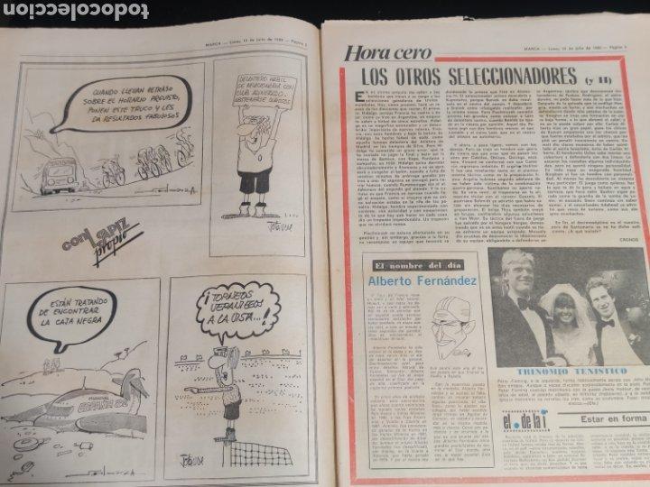 Coleccionismo deportivo: Di stefano,siempre Di stefano. Marca,lunes 19 de julio de 1982. - Foto 3 - 227578105