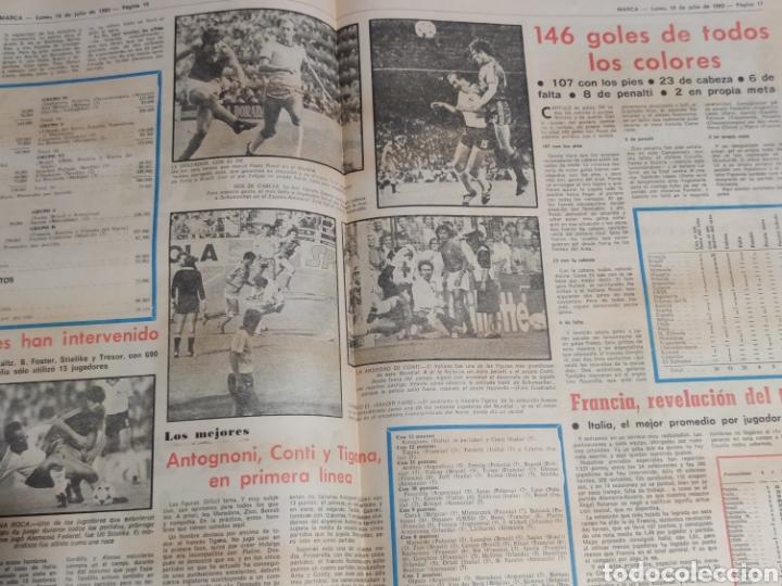 Coleccionismo deportivo: Di stefano,siempre Di stefano. Marca,lunes 19 de julio de 1982. - Foto 4 - 227578105