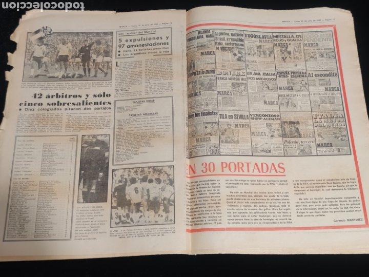 Coleccionismo deportivo: Di stefano,siempre Di stefano. Marca,lunes 19 de julio de 1982. - Foto 5 - 227578105