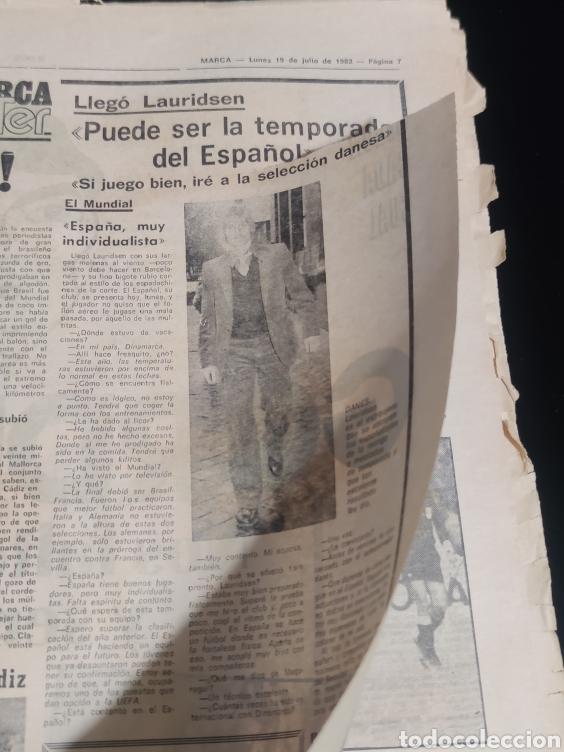 Coleccionismo deportivo: Di stefano,siempre Di stefano. Marca,lunes 19 de julio de 1982. - Foto 9 - 227578105