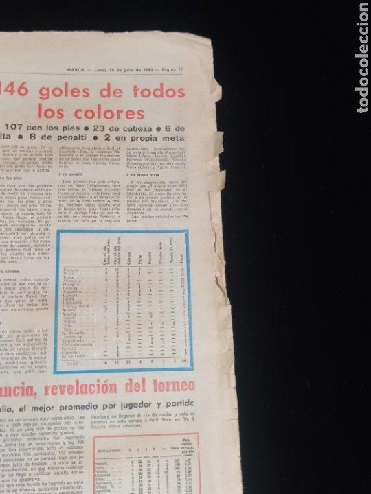 Coleccionismo deportivo: Di stefano,siempre Di stefano. Marca,lunes 19 de julio de 1982. - Foto 10 - 227578105