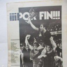 Coleccionismo deportivo: EL MUNDO DEPORTIVO. AÑO LXXIII. VIERNES, 18 DE MAYO DE 1979. NÚMERO 17.298. ¡¡¡POR FIN!!!. Lote 227582885