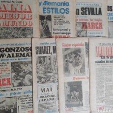Sammelleidenschaft Sport: DIARIO MARCA,COPA MUNDIAL DE LA FIFA ESPAÑA 1982,COLECCION COMPLETA.. Lote 227639850