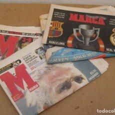 Coleccionismo deportivo: LOTE DE 3 PERIODICOS MARCA. SEPT. AGOSTO 2003. Lote 227687005