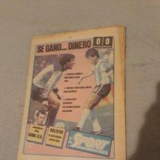 Coleccionismo deportivo: DIARIO SPORT N° 1006 . AÑO 1982 QUINI , MARADONA , OREJUELA I , MARIN MARCHADOR.. Lote 227906650