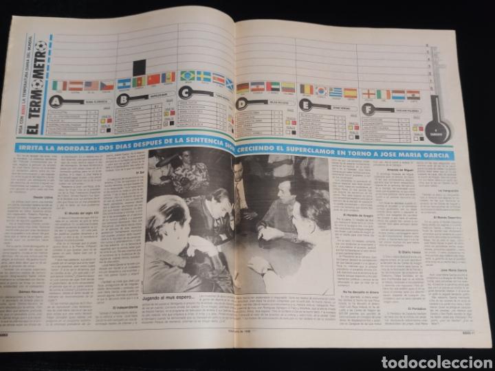 Coleccionismo deportivo: Diario Marca,mundial de futbol FIFA italia año 1990. Edicion Andalucia. 9 de Junio. - Foto 2 - 227917095
