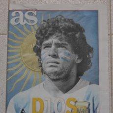 Coleccionismo deportivo: DIARIO AS. HOMENAJE DIEGO MARADONA.. Lote 228157446