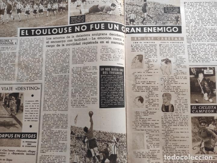 Coleccionismo deportivo: VIDA DEPORTIVA Nº 247 1950 ATHLETIC CLUB BILBAO CAMPEON COPA DEL GENERALISIMO 50 REAL VALLADOLID - Foto 2 - 228363650