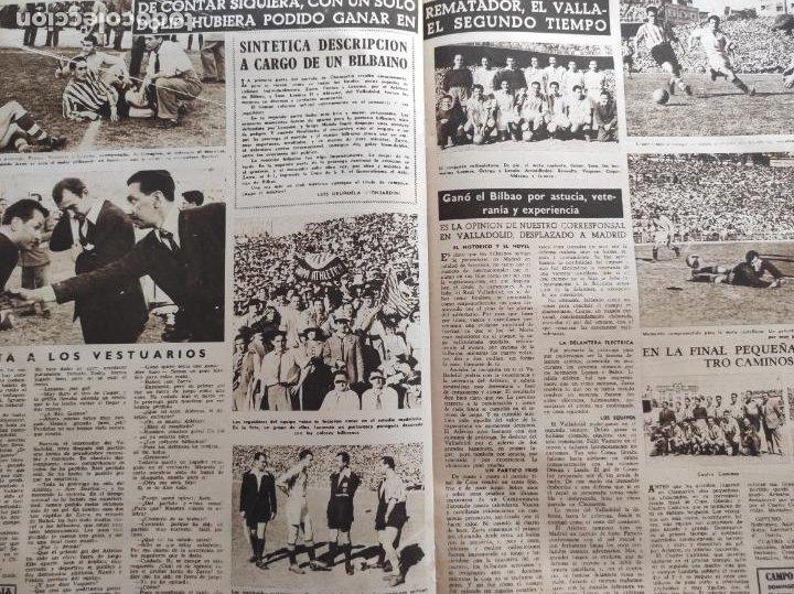 Coleccionismo deportivo: VIDA DEPORTIVA Nº 247 1950 ATHLETIC CLUB BILBAO CAMPEON COPA DEL GENERALISIMO 50 REAL VALLADOLID - Foto 4 - 228363650