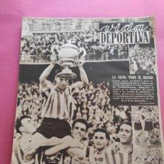 Coleccionismo deportivo: VIDA DEPORTIVA Nº 247 1950 ATHLETIC CLUB BILBAO CAMPEON COPA DEL GENERALISIMO 50 REAL VALLADOLID. Lote 228363650