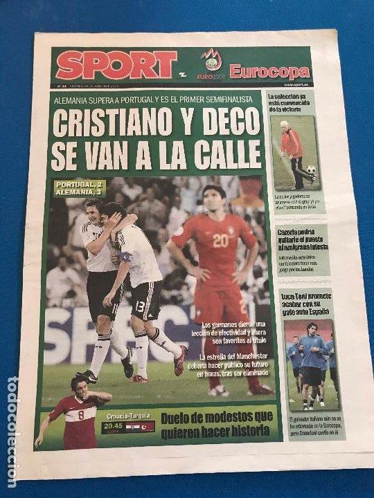 Coleccionismo deportivo: portadas sport España Campeona de Eurocopa 2008 - Foto 11 - 228483290