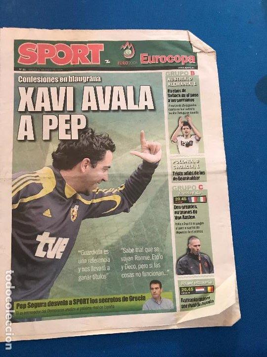 Coleccionismo deportivo: portadas sport España Campeona de Eurocopa 2008 - Foto 14 - 228483290