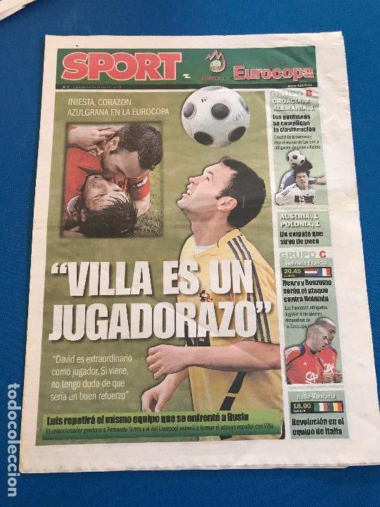 Coleccionismo deportivo: portadas sport España Campeona de Eurocopa 2008 - Foto 18 - 228483290