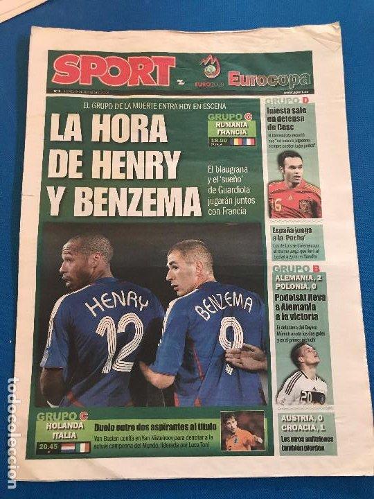 Coleccionismo deportivo: portadas sport España Campeona de Eurocopa 2008 - Foto 22 - 228483290