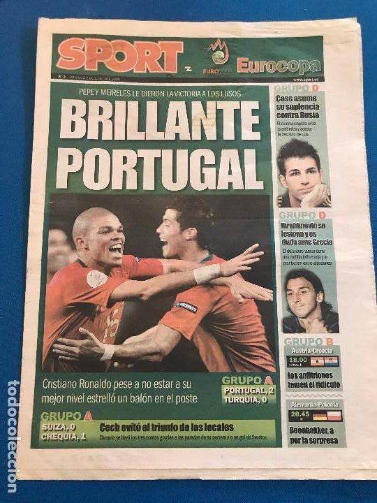 Coleccionismo deportivo: portadas sport España Campeona de Eurocopa 2008 - Foto 23 - 228483290