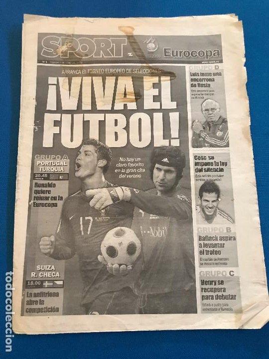 Coleccionismo deportivo: portadas sport España Campeona de Eurocopa 2008 - Foto 24 - 228483290