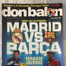 Coleccionismo deportivo: FÚTBOL DON BALÓN 1488 - POSTER MISTA - RONALDO - MARADONA - PORTO - CHELSEA - EURO 2004 - NUMANCIA. Lote 228579070
