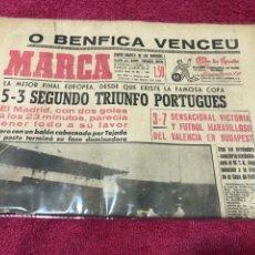Colecionismo desportivo: 3-5-1962 FINAL COPA EUROPA BENFICA REAL MADRID. Lote 228692135