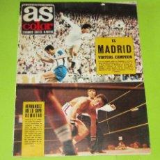 Collectionnisme sportif: AS COLOR Nº 45 --28 -3- 1972, POSTER Nº 45 PONTEVEDRA CLUB DE FUTBOL 71-72 EN MUY BUEN ESTADO. Lote 228718035