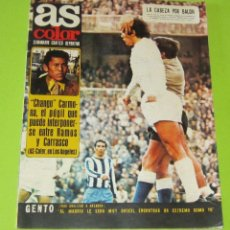 Collectionnisme sportif: AS COLOR Nº 41,29-2-1972, POSTER Nº 41CLUB DEPORTIVO LOGROÑES 71-72. Lote 228728405