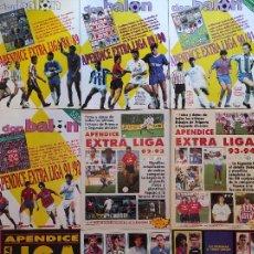 Coleccionismo deportivo: LOTE 9 APENDICE EXTRA LIGA DON BALON 88/89 89/90 90/91 91/92 92/93 93/94 94/95 95/96 96/97 - GUIA. Lote 228845315