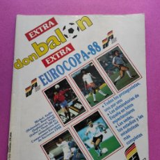 Coleccionismo deportivo: EXTRA DON BALON EURO ALEMANIA 88 - ESPECIAL GUIA EUROCOPA 1988 SELECCION ESPAÑOLA POSTER ESPAÑA. Lote 228846625