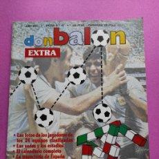 Coleccionismo deportivo: EXTRA DON BALON MUNDIAL ITALIA 90 - REVISTA ESPECIAL GUIA WORLD CUP ITALY 1990 COPA DEL MUNDO. Lote 228850683