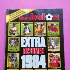 Coleccionismo deportivo: REVISTA DON BALON EXTRA 1984 - RESUMEN DEPORTIVO AÑO 84 - SUPER POSTER FUTBOL BASKET CICLISMO. Lote 228869225