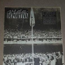Collectionnisme sportif: VIDA DEPORTIVA, 27 JUNIO 1950, COMIENZO MUNDIAL 1950. Lote 229005480