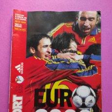 Collezionismo sportivo: EXTRA DIARIO SPORT GUIA UEFA EURO 2000 - ESPECIAL EUROCOPA HOLANDA-BELGICA 00 SELECCION ESPAÑOLA. Lote 229305815