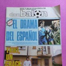 Coleccionismo deportivo: DON BALON Nº 658 RCD ESPANYOL FINAL COPA UEFA 1988 ESPAÑOL - BAYER LEVERKUSEN POSTER FINALISTA 87/88. Lote 229514740