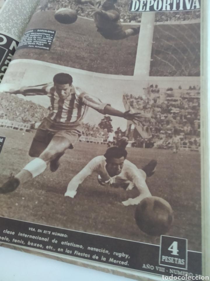 Coleccionismo deportivo: Libro con 29 periódicos de la Vida deportiva. Años 1949-1950 - Foto 10 - 229537530