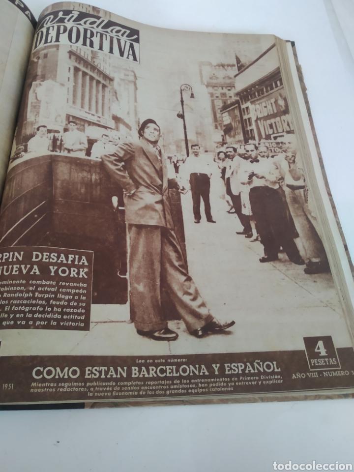 Coleccionismo deportivo: Libro con 29 periódicos de la Vida deportiva. Años 1949-1950 - Foto 23 - 229537530