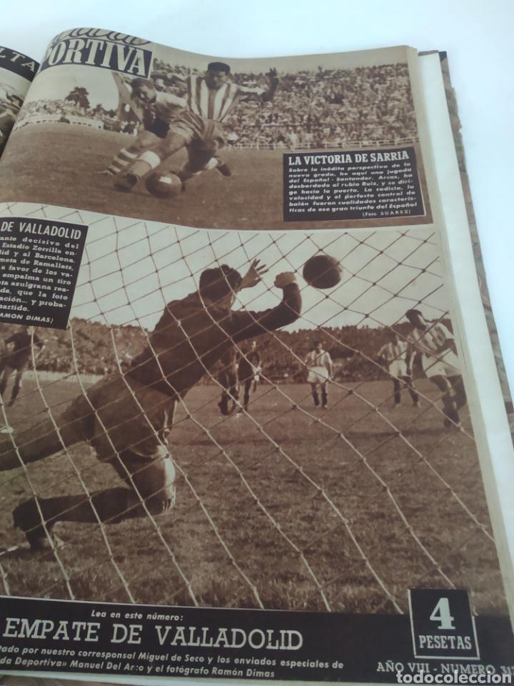 Coleccionismo deportivo: Libro con 29 periódicos de la Vida deportiva. Años 1949-1950 - Foto 30 - 229537530