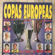 Coleccionismo deportivo: FÚTBOL DON BALÓN EXTRA COPAS EUROPEAS NÚMERO 35 - TEMPORADA 96-97 - GUIA ALBUM CROMO CHAMPIONS UEFA. Lote 229653955