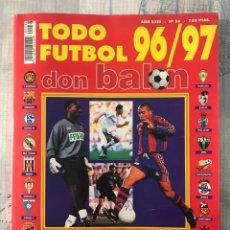 Coleccionismo deportivo: DON BALÓN EXTRA TODO FÚTBOL NÚMERO 36 - TEMPORADA 96-97 - GUÍA ALBUM CROMO AS MARCA PANENKA. Lote 229655675