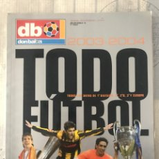 Coleccionismo deportivo: DON BALÓN EXTRA TODO FÚTBOL NÚMERO 74 - TEMPORADA 2003-04 - GUÍA ALBUM CROMO AS MARCA PANENKA LIGA. Lote 229658115