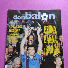 Coleccionismo deportivo: REVISTA DON BALON Nº 709 FC BARCELONA CAMPEON RECOPA DE EUROPA 1989 - POSTER BARÇA FUTBOL 1988-1989. Lote 229725850