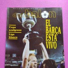 Coleccionismo deportivo: REVISTA DON BALON Nº 755 FC BARCELONA CAMPEON COPA DEL REY 89/90 - POSTER BARÇA FUTBOL 1989-1990. Lote 229727075