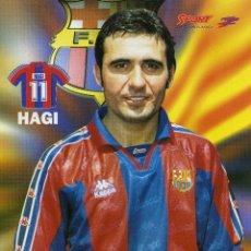 Collectionnisme sportif: FC BARCELONA - HAGI. Lote 229805125