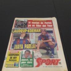 Collezionismo sportivo: 14/07/1989. MARADONA COLECCIONABLE LAUDRUP KOEMAN. Lote 230033215
