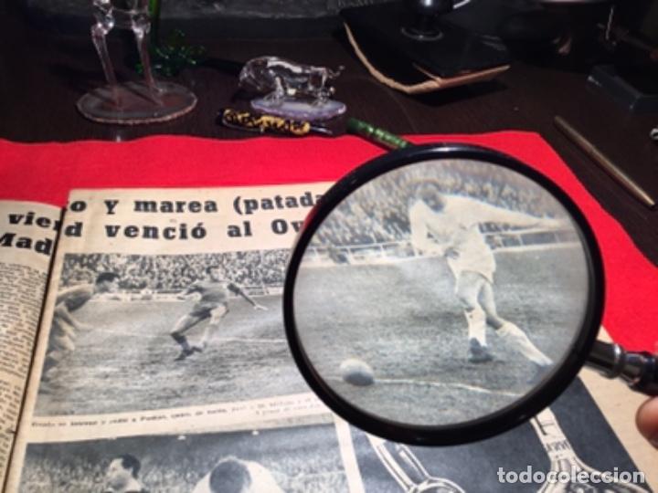 Coleccionismo deportivo: Antiguo periódico marca 1003 puskas,Di Stefano y Gento - Foto 3 - 230152475