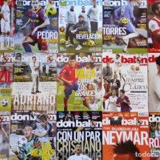 Coleccionismo deportivo: LOTE 15 REVISTAS DON BALON AÑO 2011 Nº ENTRE 1838 Y 1861 - FUTBOL LIGA POSTER. Lote 230665495