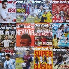 Coleccionismo deportivo: LOTE 12 REVISTAS DON BALON AÑO 2011 Nº 1851-1853-1854-1855-1858-1860-1861-1862-1863-1866-1867-1868. Lote 230687750