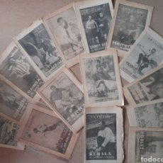 Coleccionismo deportivo: 40 DÍAS,40 ASES 40 BIOGRAFIAS SUPLEMENTO DE MARCA 15 EJEMPLARES. Lote 231023280