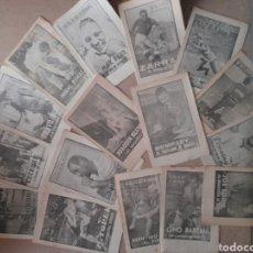 Coleccionismo deportivo: 40 DÍAS 40 ASES 40 BIOGRAFIAS SUPLEMENTO DE MARCA 16 NÚMEROS. Lote 231027095