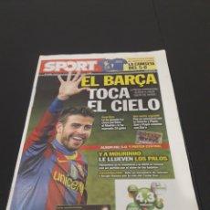 Collectionnisme sportif: 01/12/2010. FC BARCELONA, 5 - R.MADRID, 0 CON POSTER CENTRAL. Lote 231183885
